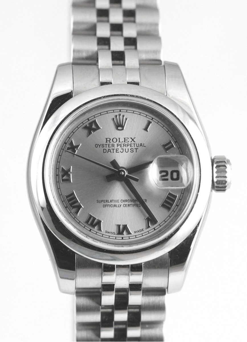 Rolex Ladies Stainless Steel DateJust with New Style Jubilee Bracelet Model No: 179160