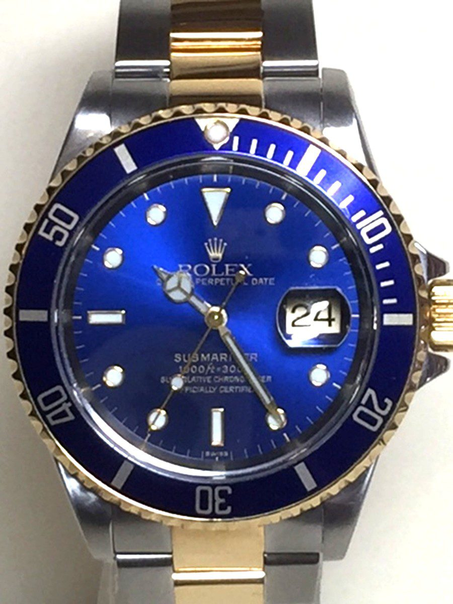 Rolex Submariner 40mm Stainless Steel & 18kt Gold Model No: 16613