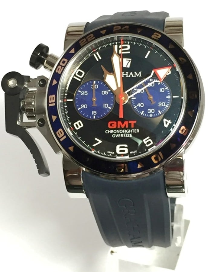Graham Oversize GMT Chronofighter Big Date